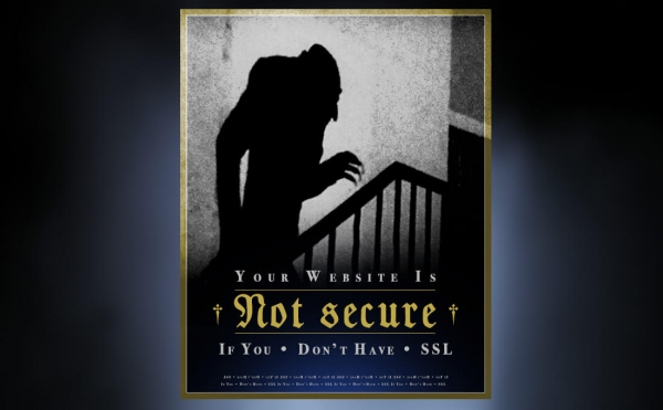 Websites that are not secure are scary. | Is your website secure?