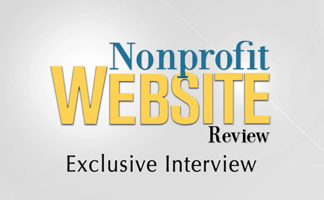 My interview with the Nonprofit Website Review | Interview with Nonprofit Website Review
